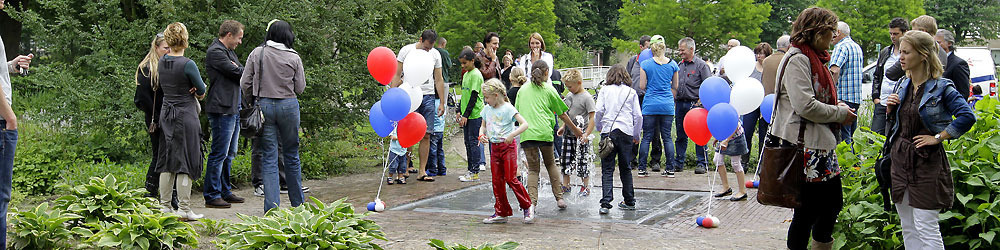 Opening Watertafel Beatrixpark